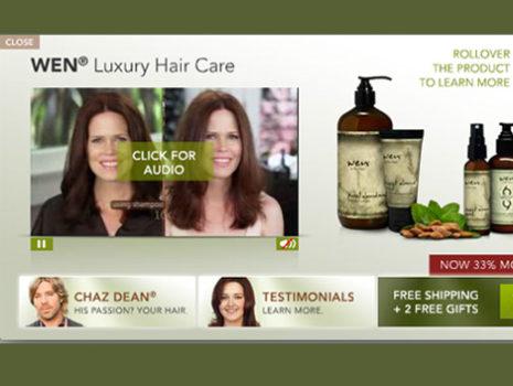 WEN Hair Care Expandable Rich Media Unit