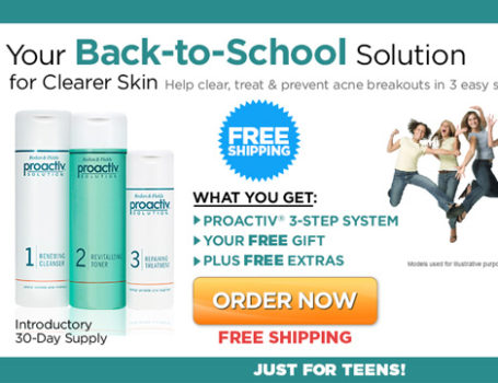 Proactiv 'Back to School' Campaign