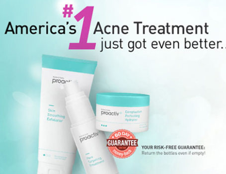 Proactiv 'One-Shot' test campaign