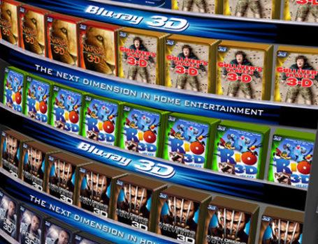 International Blu-Ray 3-D Branding Campaign
