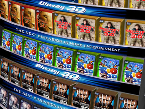 International Blu-Ray 3-D Branding Campaign