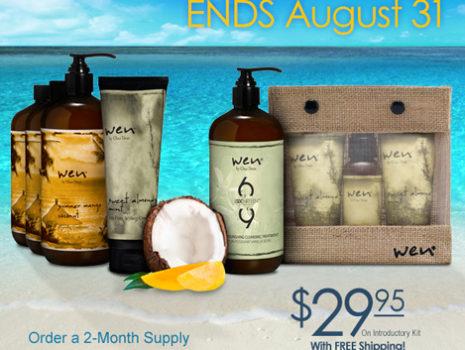 Wen Hair Care 'Summer Mango Coconut' seasonal campaign