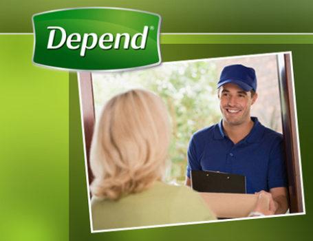Depend (Kimberly-Clark) banner suite + e-Commerce website