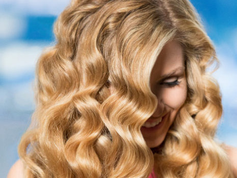 Wen Hair Care model photo shoot
