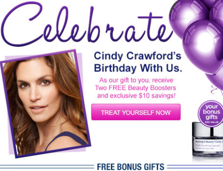 Meaningful Beauty 'Birthday Celebration' email