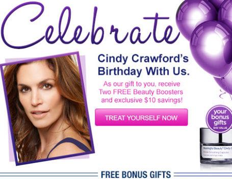 Meaningful Beauty 'Birthday Celebration' email