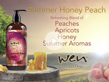 Wen Hair Care 'Summer Honey Peach' seasonal campaign