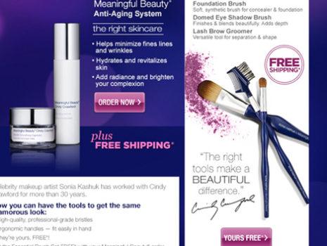 Meaningful Beauty 'Sonja Kashuk brush' campaign