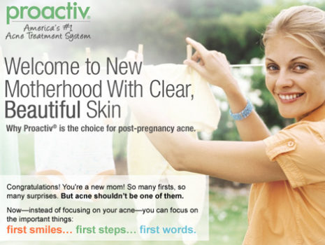 Proactiv 'New Mom' Campaign