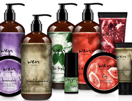Wen Hair Care product imagery
