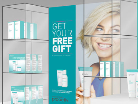 Proactiv Nationwide Kiosk Development