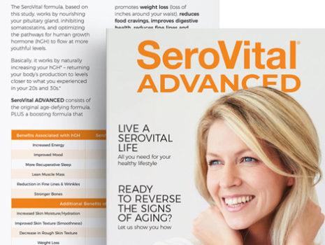 SeroVital ADVANCED Product Launch Campaign